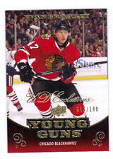 10-11 Upper Deck Evan Brophey Young Guns Exclusives Rookie Card RC #459 /100