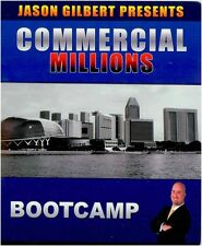 "Jason Gilbert ""Commercial Millions"" Real Estate Course - 3 Day Boot camp Rare"