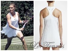NIKE SLAM PLEATED Wimbledon Tennis Golf Dress Gym Dance Bouchard Skirt - XS