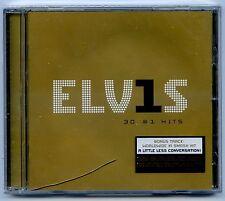 Elvis Presley CD ELVIS 30 #1 Hits STILL SEALED (crack in case)