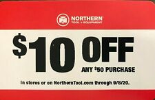 Northern Tool & Equipment Coupon $10 Off $50 Purchase Store or Online 09/08/20