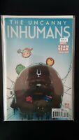 Uncanny Inhumans 13 Tsum Tsum Variant Edition High Grade Comic Book RM8-192