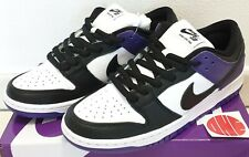 NIKE SB DUNK LOW PRO PURPLE BLACK - US 9 - BQ6817 500 - 2021 - DS - no travis