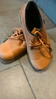 Vintage shoes brown leather Wolverine demi boots size 7