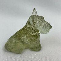 Boyd Art Glass Duke the Scottie Dog - Honeymoon