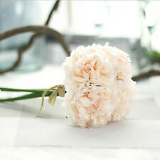 Artificial Silk Fake Flowers Peony Floral Wedding Bouquet Bridal Hydrangea CA