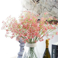 Artificial Fake Baby's Breath Gypsophila Silk Flowers Bouquet Home Wedding Decor