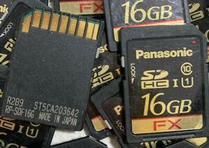 1pc slc! panasonic fx 16GB sd card industrial grade