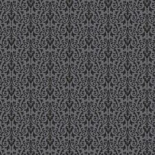 By 1/2 Yard ~ Riley Blake Fabric Ghouls & Goodies Damask Black ~ Halloween