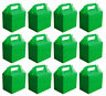 12 x Green Paper Lunch Box Going Home Present VALUE PACK