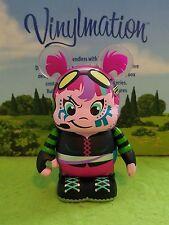 DISNEY VINYLMATION Park Set Urban Redux Series 2 Pink Biker Girl