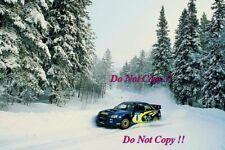 Tommi Makinen Subaru Impreza WRC2003 Swedish Rally 2003 Photograph 1