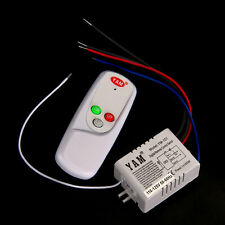 1 Port Way 110V LED Lamp Light Digital Wireless Wall Switch Remote Control