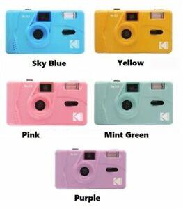 NEW - Kodak Vintage retro M35 35mm Reusable Film Camera Pink Purple YE Green SG