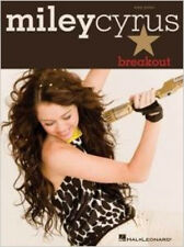 Miley Cyrus: Breakout - Easy Piano, New, Hal Leonard Book