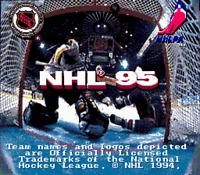 NHL 95 - Sega Genesis Game - Cartridge Only