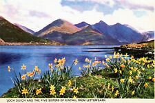 Loch Duich & Five Sisters of Kintail from Letterfearn (card ref: PT36219)