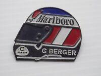 Pin's vintage épinglette collector pins pub Casque MARLBORO G.Berger LOT PJ014