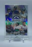 2004 eTopps #121 Colorado Rockies Team /2500 Limited Edition