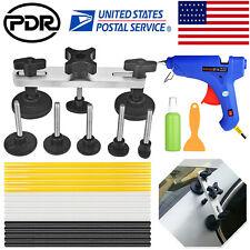 Paintless Dent Repair Removal PDR Tools Auto Body Kit Puller Bridge Glue Gun Set