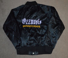 Ozzmosis Summer Tour Satin Jacket Ozzy Osbourne Black Sabbath Tribute Band Med