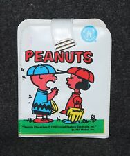 Peanuts Snoopy Charlie Brown Lucy Wallet Mattel 1967
