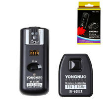 Yongnuo RF-602 wireless flash trigger w/ receivers for Nikon D90 D5200 D80 D3 UK