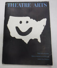 Theatre Arts Magazine Theatre USA & Michel De Ghelderode August 1962 072715R