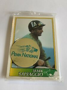 Rare Pack of Cards Horse Jockey Penn National Jockey Star Cards 1993