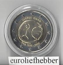 Cyprus    2 Euro 2009   EMU  10 Jaar Euro   IN STOCK