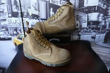Dr. Martens Men's Wallace 6 Eye Ammo Boot suede Paratrooper collection US 13