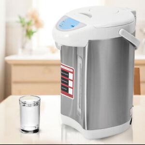 Hot Water Boiler Electric 4L Kettle Instant Dispenser Boiling Heater Urn Grey