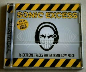 VARIOUS ARTISTS - SONIC EXCESS - 2002 EARACHE RECORDS 16 TRACKS - NEW & SEALED
