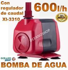 BOMBA 600l/h de AGUA SUMERGIBLE 5W ACUARIO PECERA FUENTE ESTANQUE BELEN