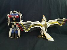 Vintage Power Rangers MMPR Falconzord 1995 and robo racer90's Action Figures Lot