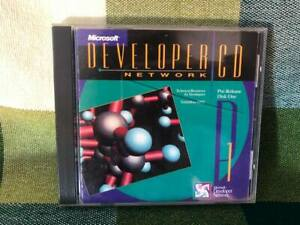 Microsoft Developer Network CD Pre-Release Disk One September 1992