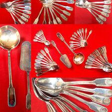 Couvert de table /Ménagère en métal argenté Couteau métal argenté / Fourchette