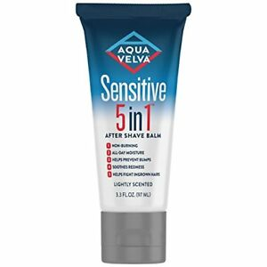 Aqua Velva Sensitive 5 in 1 After Shave Balm, 3.3 oz