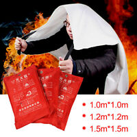 Quick Release Home &Office Safety Large Fire Blanket In Case 1m X 1m/1.5m X 1.5m