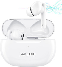 New listing Axloie Wireless Earbuds Active Noise Cancellinganc Bluetooth Earbuds Transpar