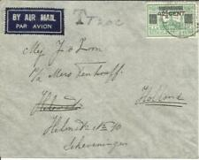 Netherlands Indies Sc#192(single frank) TARAKAN 21/4/38 AIRMAIL POSTAGE DUE
