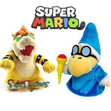 Super Mario Bros Magikoopa Kamek Bowser King Koopa Plush Doll Toy Gift US 2PCS
