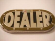 Heavy Poker Table Shape Dealer Button Card Guard New
