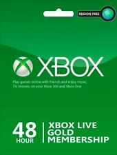 Xbox Live 2 Days Gold Trial Code Instant