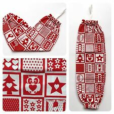 Plastic/ Shopping/ Grocery Bag Holder Storage - Christmas