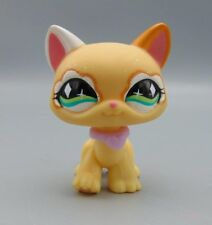 Littlest Pet Shop #626 Orange Cat w/Green Diamond Eyes LPS