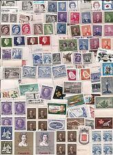 vintage MNH MINT UNUSED CANADA Canadian King George QEII postage stamps lot C1D