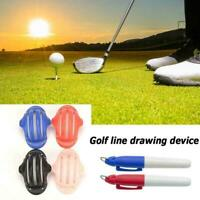 Golfball Triple Track 3 Linienmarkierungsschablone Soft 2 Pen Odyssey M3U4