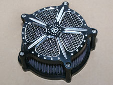 Contrast Edge Cut Air Cleaner Filter For Harley Sportster XL883 XL1200 1991-2016