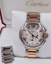 Cartier Ballon Bleu Rose Gold Stainless Steel Chronograph XL 44mm 6920063 Watch